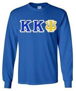 Kappa Kappa Psi Custom Twill Long Sleeve T-Shirt