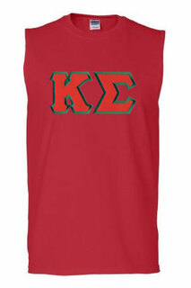 DISCOUNT- Kappa Sigma Lettered Sleeveless Tee