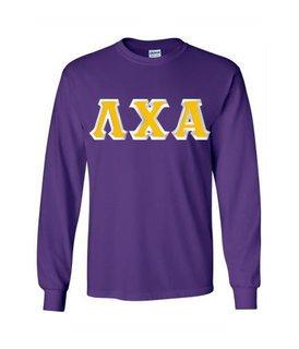 Lambda Chi Alpha Custom Twill Long Sleeve T-Shirt