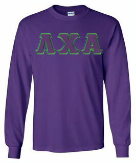 DISCOUNT Lambda Chi Alpha Lettered Long sleeve