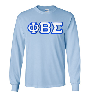 Phi Beta Sigma Custom Twill Long Sleeve T-Shirt