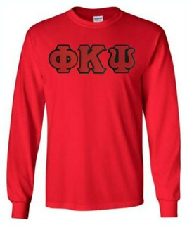 DISCOUNT Phi Kappa Psi Lettered Long sleeve