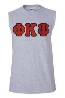 DISCOUNT- Phi Kappa Psi Lettered Sleeveless Tee