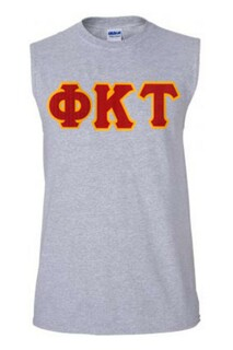 DISCOUNT- Phi Kappa Tau Lettered Sleeveless Tee