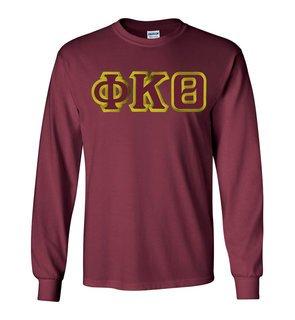 $19.99 Phi Kappa Theta Custom Twill Long Sleeve T-Shirt
