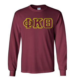 Phi Kappa Theta Custom Twill Long Sleeve T-Shirt
