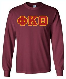 DISCOUNT Phi Kappa Theta Lettered Long sleeve