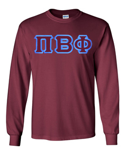 $19.99 Pi Beta Phi Custom Twill Long Tee