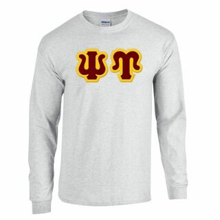 $19.99 Psi Upsilon Custom Twill Long Sleeve T-Shirt