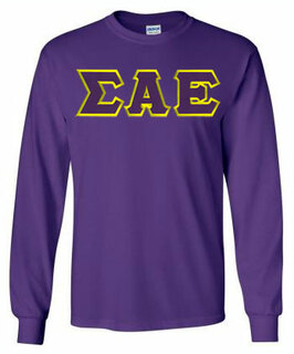 $19.99 Sigma Alpha Epsilon Lettered Long sleeve