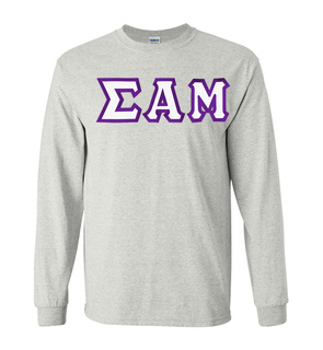 $19.99 Sigma Alpha Mu Custom Twill Long Sleeve T-Shirt