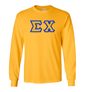 $19.99 Sigma Chi Custom Twill Long Sleeve T-shirts
