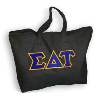 DISCOUNT- Sigma Delta Tau Lettered Tote Bag