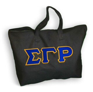 DISCOUNT- Sigma Gamma Rho Lettered Tote Bag