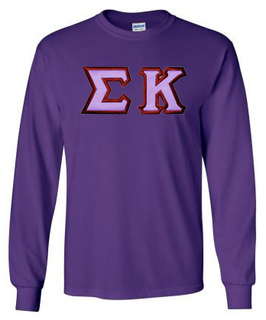 $19.99 Sigma Kappa Custom Twill Long Tee