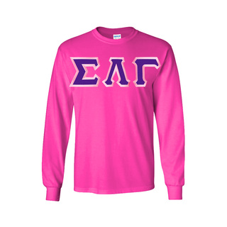 $23.99 Sigma Lambda Gamma Custom Twill Long Tee