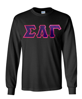 DISCOUNT Sigma Lambda Gamma Sorority Lettered Long sleeve