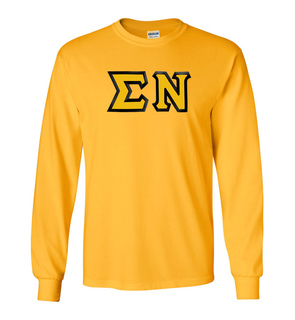 Sigma Nu Custom Twill Long Sleeve T-Shirt