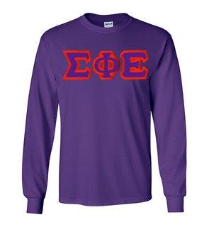 Sigma Phi Epsilon Custom Twill Long Sleeve T-Shirt