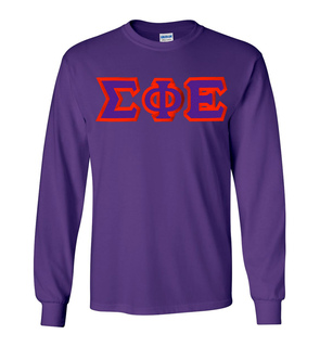 Sigma Phi Epsilon Custom Twill Long Sleeve T-Shirt