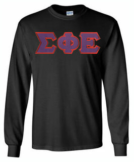 DISCOUNT Sigma Phi Epsilon Lettered Long sleeve