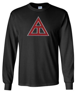 DISCOUNT Triangle Fraternity Lettered Long sleeve