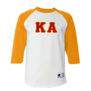 DISCOUNT- Kappa Alpha Lettered Raglan T-Shirt
