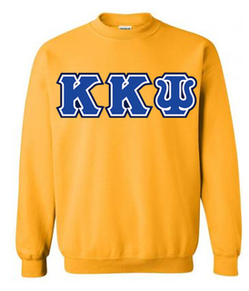 3 Color Twill Kappa Kappa Psi Custom Twill Crewneck Sweatshirt