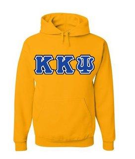 3 Color Twill Kappa Kappa Psi Custom Twill Hooded Sweatshirt