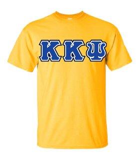 3 Color Twill Kappa Kappa Psi Custom Twill T-Shirt