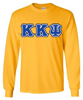 3 Color Twill Kappa Kappa Psi Custom Twill Twill-Long-Sleeve-Tee