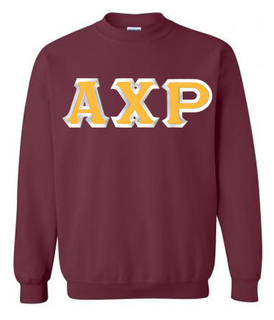 $25 Alpha Chi Rho Custom Twill Crewneck Sweatshirt