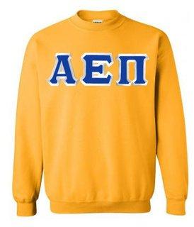 Alpha Epsilon Pi Custom Twill Crewneck Sweatshirt