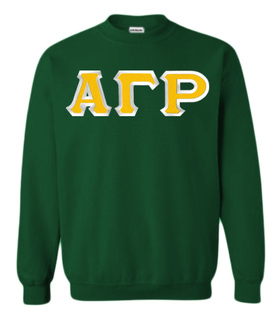 $29.99 Alpha Gamma Rho Custom Twill Crewneck Sweatshirt
