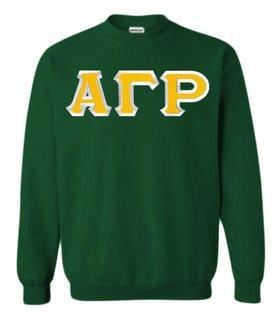 Alpha Gamma Rho Custom Twill Crewneck Sweatshirt