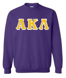 Alpha Kappa Lambda Custom Twill Crewneck Sweatshirt