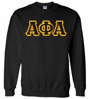 Alpha Phi Alpha Custom Twill Crewneck Sweatshirt