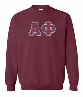 DISCOUNT Alpha Phi Lettered Crewneck