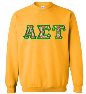 $25 Alpha Sigma Tau Custom Twill Sweatshirt