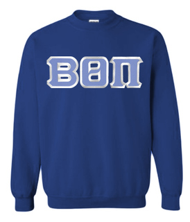 Beta Theta Pi Custom Twill Crewneck Sweatshirt