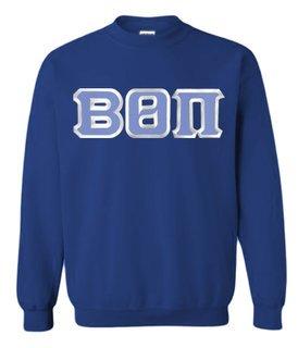 Beta Theta Pi Custom Twill Crewneck Sweatshirt