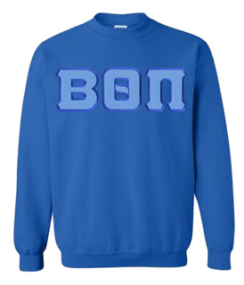 DISCOUNT Beta Theta Pi Lettered Crewneck