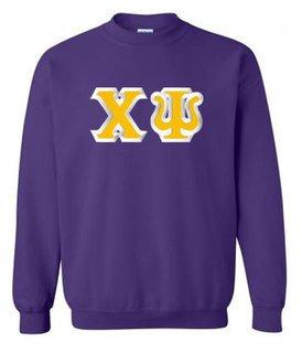 Chi Psi Custom Twill Crewneck Sweatshirt