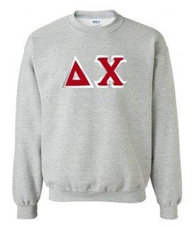Delta Chi Custom Twill Crewneck Sweatshirt