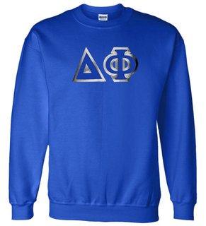 $29.99 Delta Phi Custom Twill Crewneck Sweatshirt