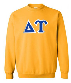 Delta Upsilon Custom Twill Crewneck Sweatshirt