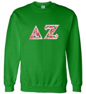 $25 Delta Zeta Custom Twill Sweatshirt