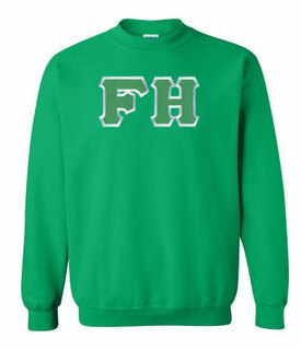 DISCOUNT FarmHouse Fraternity Lettered Crewneck