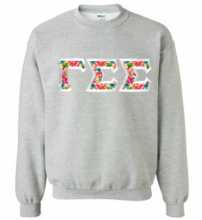 $25 Gamma Sigma Sigma Custom Twill Sweatshirt