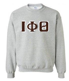 $29.99 Iota Phi Theta Custom Twill Crewneck Sweatshirt